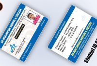 How To Create Student Id Card Design In Illustrator Cc School intended for Id Card Template Ai