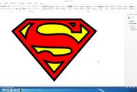 How To Create The Superman Logo In Microsoft Word Hd  Youtube within Blank Superman Logo Template