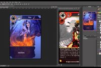 How To Create Trading Cards In Photoshop  Youtube in Superhero Trading Card Template