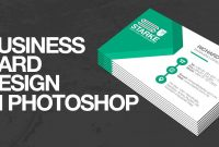 How To Design A Business Card In Photoshop  Youtube regarding Create Business Card Template Photoshop