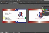 How To Design A Double Sided Business Card In Adobe Illustrator Cc regarding Adobe Illustrator Card Template