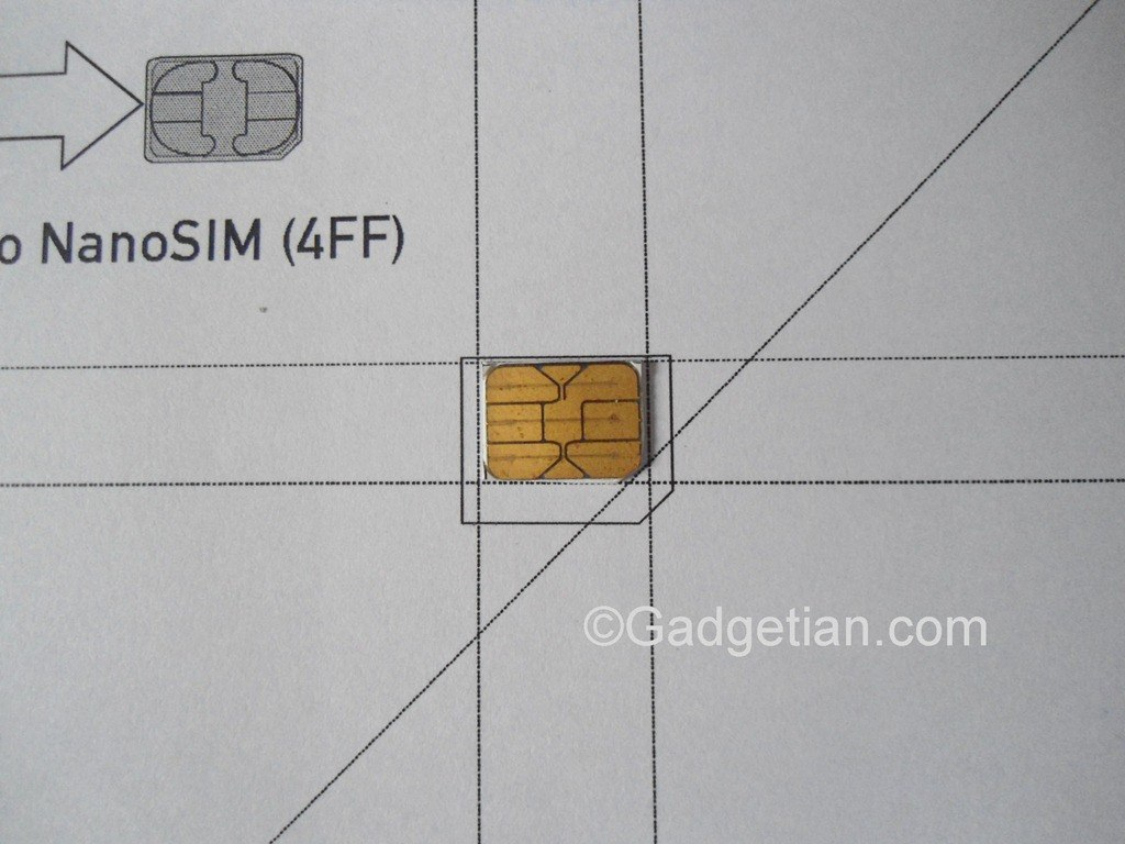 How To Easily Convert Or Cut Sim Card To Nano Sim For Iphone Pertaining To Sim Card Cutter Template