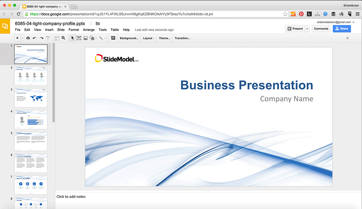 How To Edit Powerpoint Templates In Google Slides  Slidemodel Intended For How To Edit A Powerpoint Template
