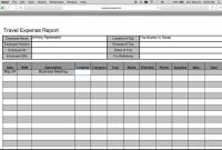 How To Fillin A Free Travel Expense Report  Pdf  Excel  Youtube regarding Expense Report Template Excel 2010