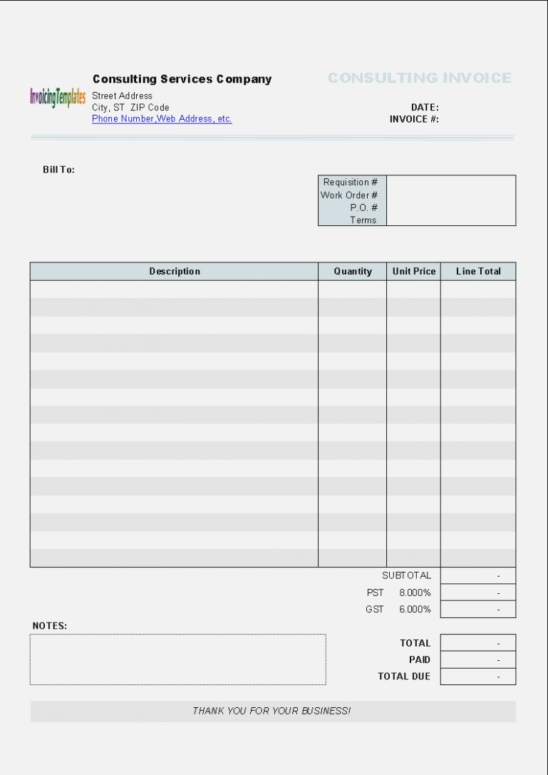 How To Get People To Like  Realty Executives Mi  Invoice And Regarding Microsoft Word Lined Paper Template