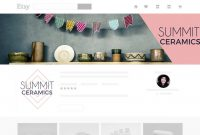 How To Grow Your Etsy Business Branding Your Shop – Befunky Blog throughout Etsy Banner Template