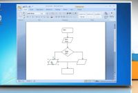How To Make A Flow Chart In Microsoft Word   Youtube with regard to Microsoft Word Flowchart Template