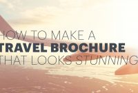 How To Make An Awesome Travel Brochure With Free Templates with regard to Travel Guide Brochure Template
