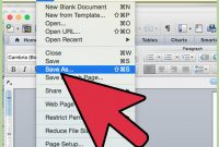How To Make Invitations On Microsoft Word  Steps in How To Save A Template In Word
