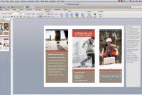How To Make Powerpoint Brochure  Youtube inside Mac Brochure Templates