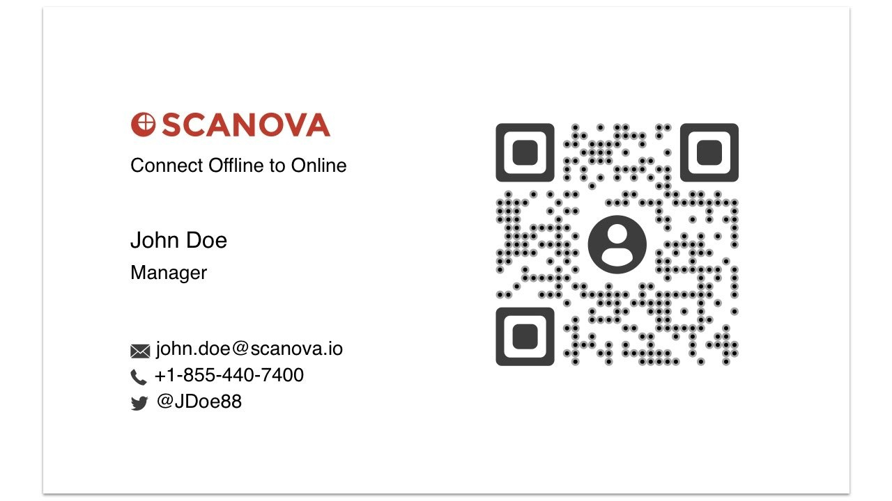 How To Make Your Business Card Better With Qr Codes  Youtube For Qr Code Business Card Template