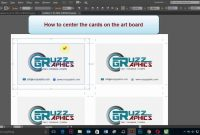 How To Print Business Cards In Adobe Illustrator Cc Cs  Double Sided intended for Double Sided Business Card Template Illustrator