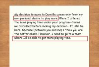 How To Write A Letter Of Resignation To Your Coach With Sample Letters regarding Soccer Thank You Card Template