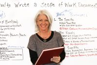 How To Write A Scope Of Work  Projectmanager intended for Scope Of Work Agreement Template
