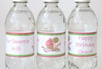 Howto Make Custom Water Bottle Labels  Glorious Treats throughout Free Custom Water Bottle Labels Template