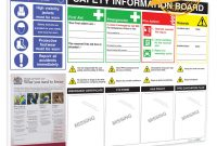 Hs Information Board In Health And Safety Board Report Template