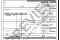 Hv Hvac Flat Rate Work Order Invoice   Value Printing  Hvac pertaining to Hvac Invoices Templates