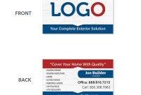 Hvac Business Card Template  Mandegar inside Hvac Business Card Template