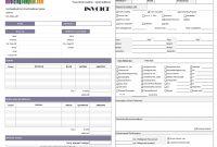 Hvac Service Invoice pertaining to Hvac Invoices Templates