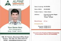 Id Card Pass Samples  Letter Adress within Sample Of Id Card Template