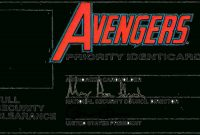 Id Card Template  Avengers Pr…  Diykids Id Cards  You Can Put in Id Card Template For Kids