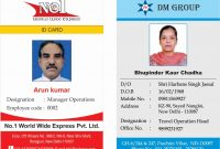Id Card Templates Free Download Template Breathtaking Ideas intended for Sample Of Id Card Template