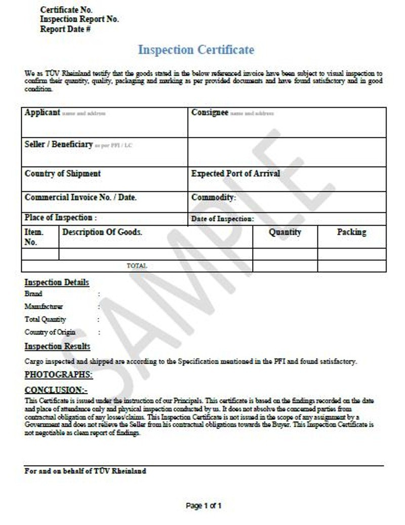 Ideas Collection For Certificate Of Inspection Template Of Summary For Certificate Of Inspection Template