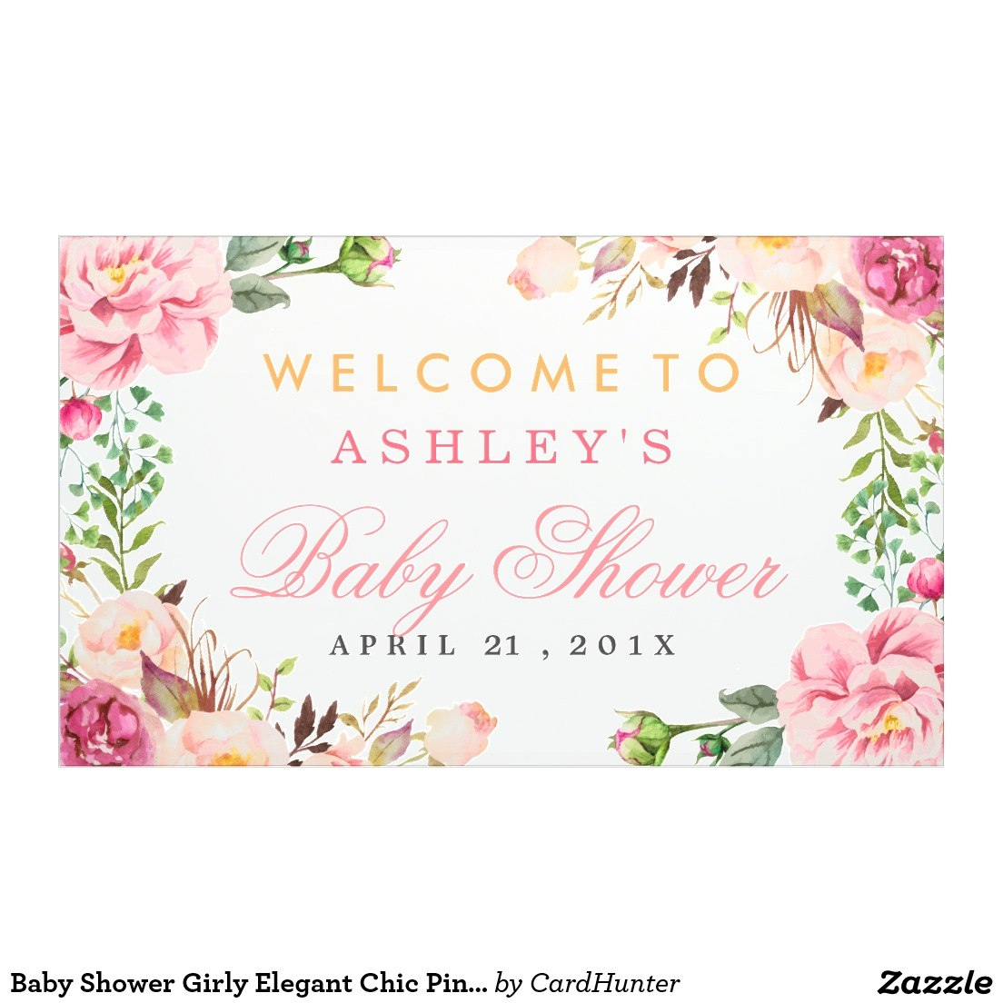 Ideas For Bridal Shower Banner Template With Description In Bridal Shower Banner Template