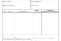Ideas For Certificate Of Origin Form Template In Format Sample regarding Certificate Of Origin Form Template