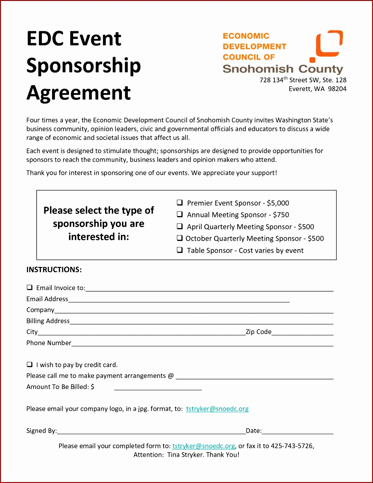 Ideas For Event Sponsorship Agreement Template Of Your Example With Regard To Event Sponsorship Agreement Template