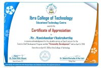 Ideas For International Conference Certificate Templates In Cover Regarding International Conference Certificate Templates