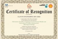 Ideas For Safety Recognition Certificate Template About Letter with regard to Safety Recognition Certificate Template