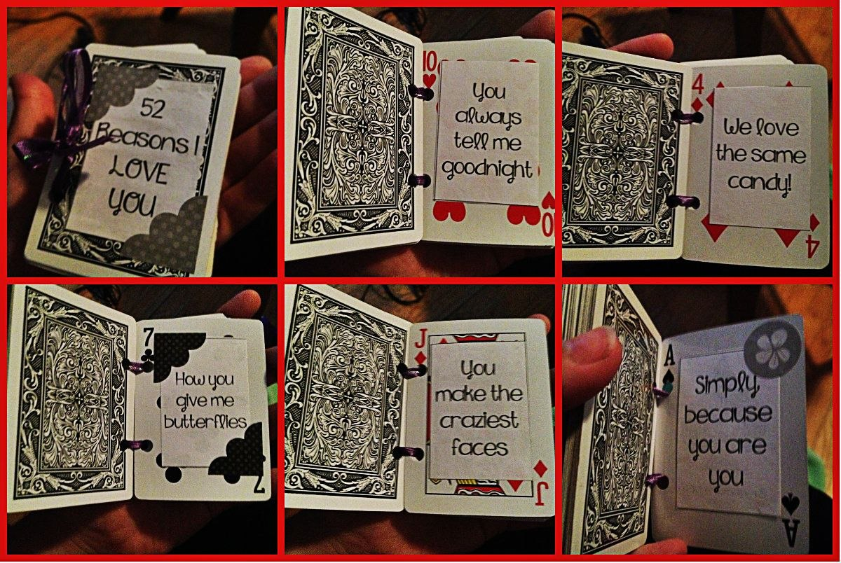 If My Love Was A Deck Of Cards…  Fun Fun  Reasons I Love You Pertaining To 52 Reasons Why I Love You Cards Templates