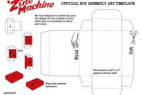 Image Result For Zine Templates  Box Template  Box Design in Business In A Box Templates