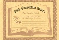 Images Of Berg Christian Certificates Template  Photomeat throughout Christian Certificate Template