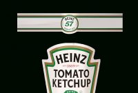Images Of Blank Heinz Label Template  Unemeuf throughout Heinz Label Template