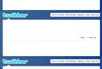 Images Of Blank Twitter Profile Template  Matyko with Blank Twitter Profile Template