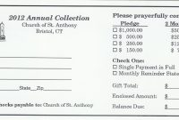 Images Of Church Pledge Letters Template  Zeept pertaining to Building Fund Pledge Card Template