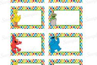 Images Of Elmo Label Template  Bfegy within Sesame Street Label Templates