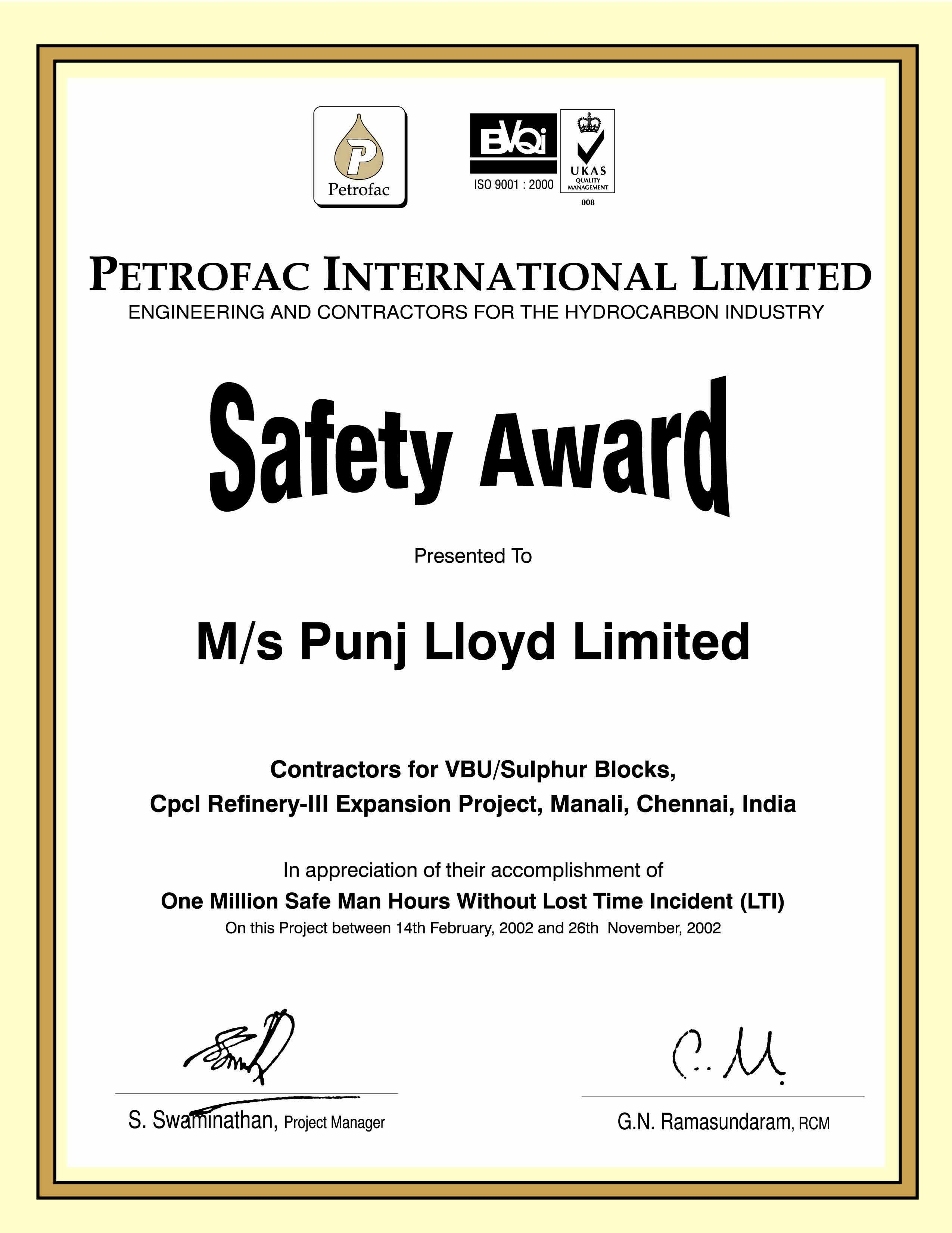 Images Of Employee Safety Award Certificate Template  Photomeat In Safety Recognition Certificate Template