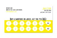 Images Of Free Templatedownload Free Reward Punch Card  Unemeuf pertaining to Free Printable Punch Card Template