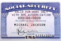Images Of Social Security Card Photoshop Template Editable with Blank Social Security Card Template