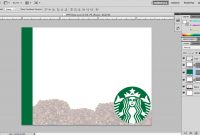 Images Of Starbuck Blank Template  Elcarco within Starbucks Powerpoint Template
