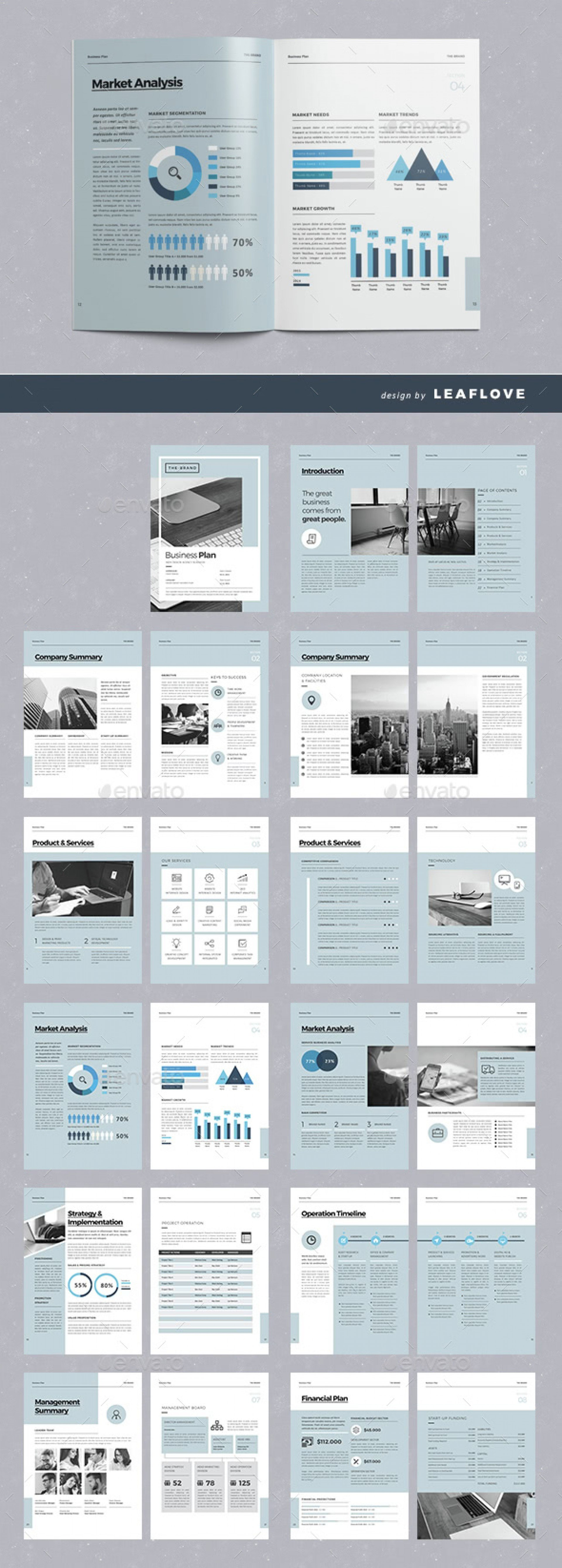 Indesign Business Plan Template   Amazing Templates Adobe Throughout Business Plan Template Indesign