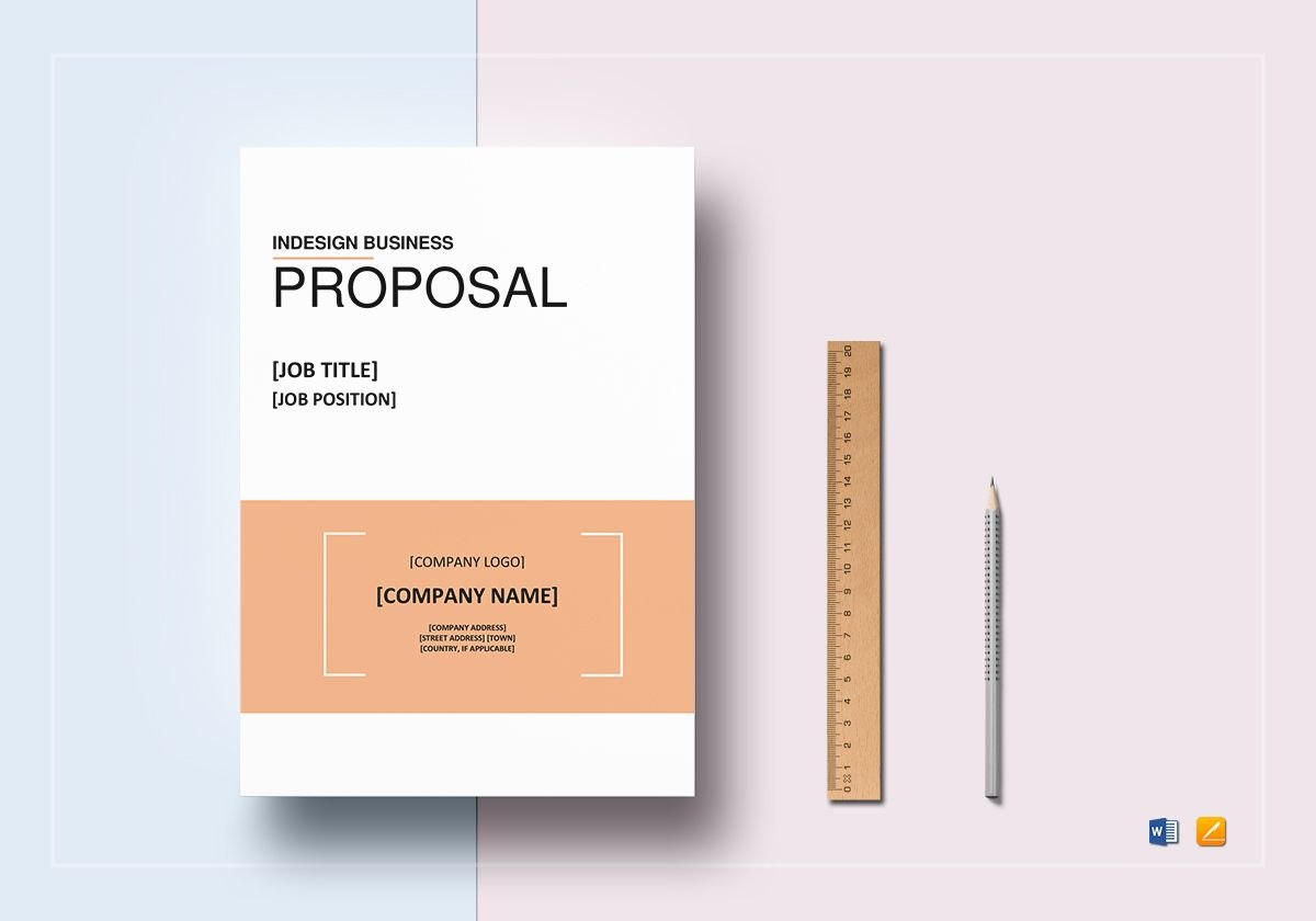 Indesign Business Proposal Template In Word Google Docs Apple Inside Business Proposal Template Indesign