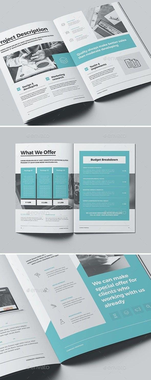 Indesign Business Proposal Templates  Art Sauce  Business With Business Proposal Indesign Template