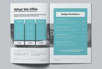 Indesign Business Proposal Templates  Art Sauce  Business with regard to Business Proposal Template Indesign