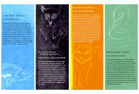 Indesign Projects  Timothy Rose with regard to Zoo Brochure Template