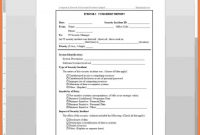 Information Technology Incident Report Template … – Xyztemplates inside Template For Information Report