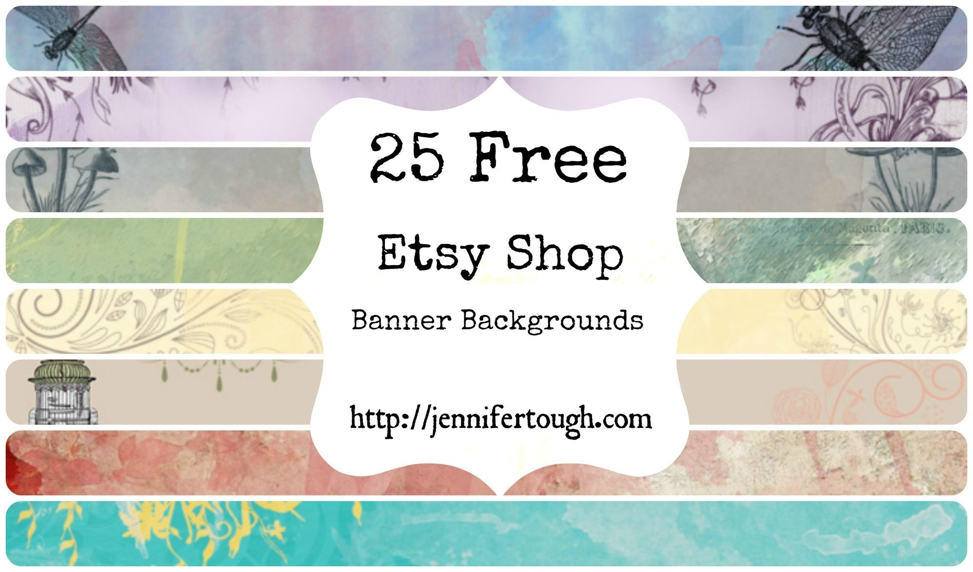Inspirational Etsy Banner Maker Photos  Crosstabs With Free Etsy Banner Template
